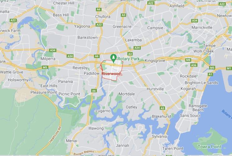 Riverwood Map Area