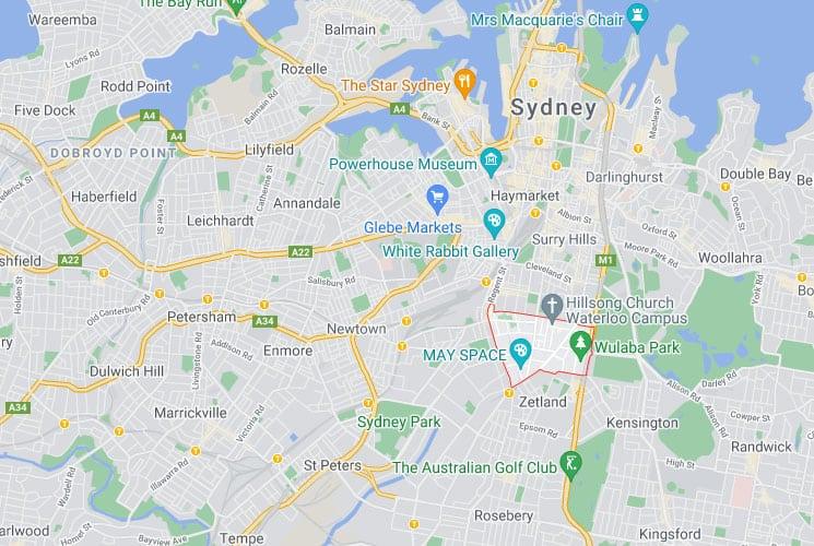 Waterloo Map Area